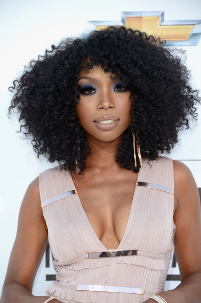 Black Hair Trend Alert - Black Celebs Wearing Curly Weave Hairstyles 3