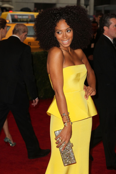 Solange Knowles at the 2012 Met Gala Ball – Her Dress, Her Style and Her Hair