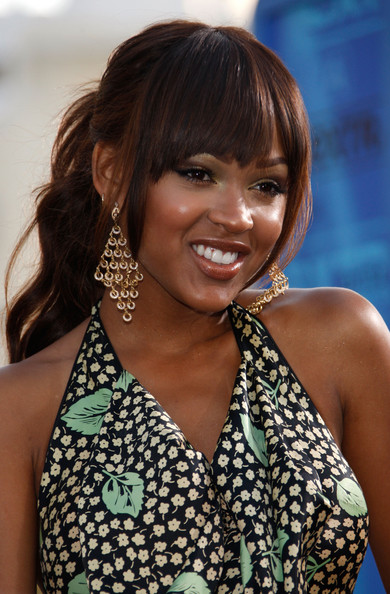 Strange Meagan Good Hairstyles And Haircuts The Style News Network Short Hairstyles Gunalazisus