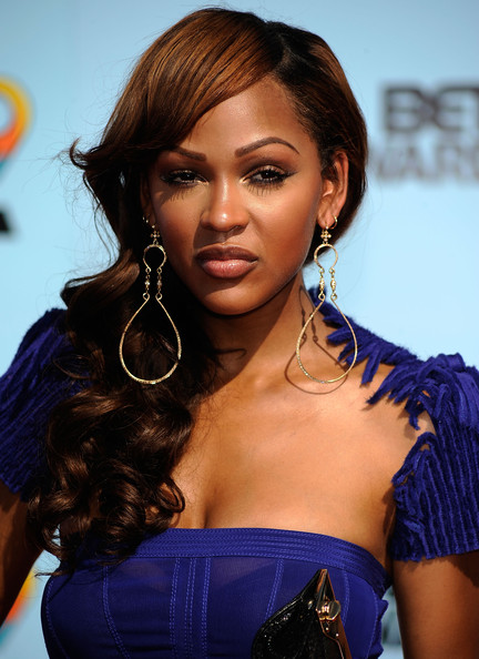 Peachy Meagan Good Hairstyles And Haircuts The Style News Network Short Hairstyles For Black Women Fulllsitofus