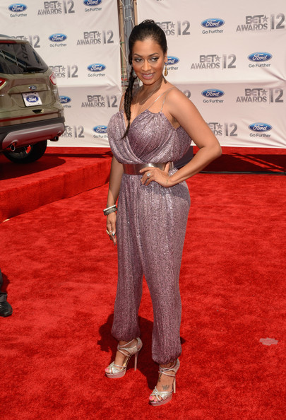 2012 BET Awards – La La Anthony In Jumpsuit – The Style ...