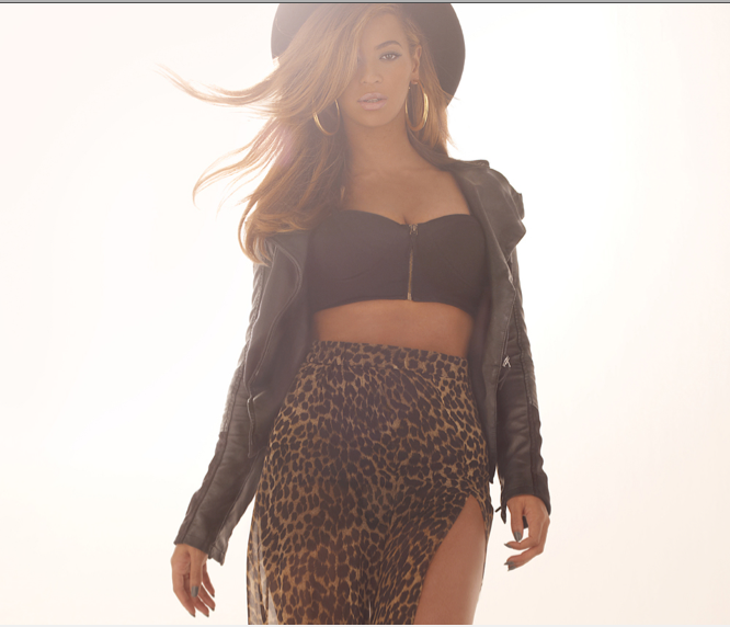 Beyonce's HOUSE OF DEREON Fall 2012 Promo Looks