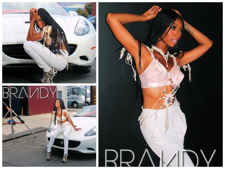 "Brandy Goes Back To Individual Braids For New Vid ""Put It Down"""