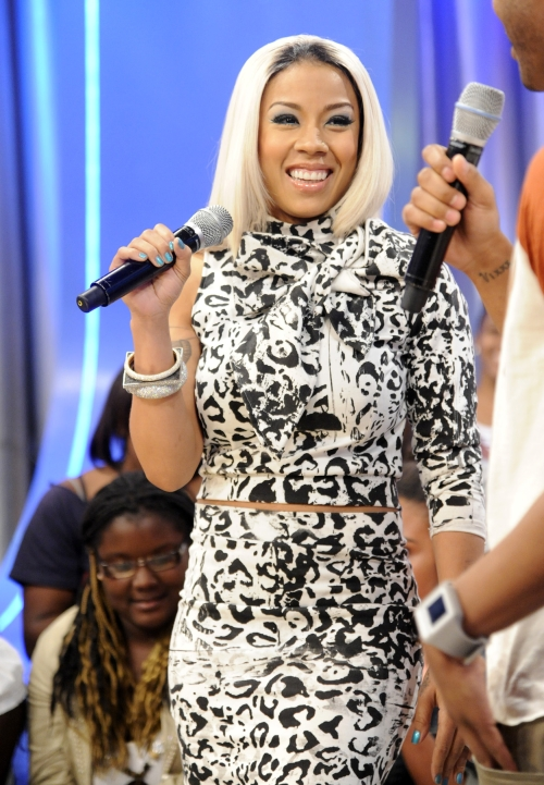 Chic Or Weak Keyshia Cole's Exposed Roots Featuring Platnium Blonde Locks