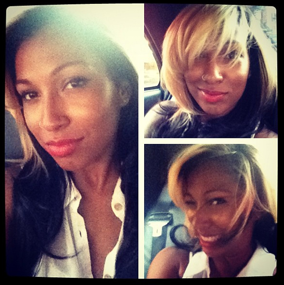 Melanie Fiona Gets Funky With New Blonde Hair Color