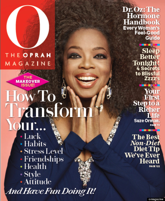 "Oprah Wears Natural Hairstyle On The Cover Of ""O"" Magazine"