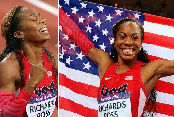 Sanya Richards-Ross Shows Off Style While Winning Gold!