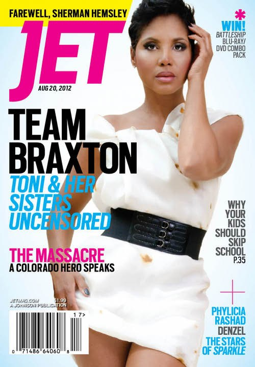 Toni Braxton Shows Off Short Pixie Haircut On The Cover Of Jet Magazine
