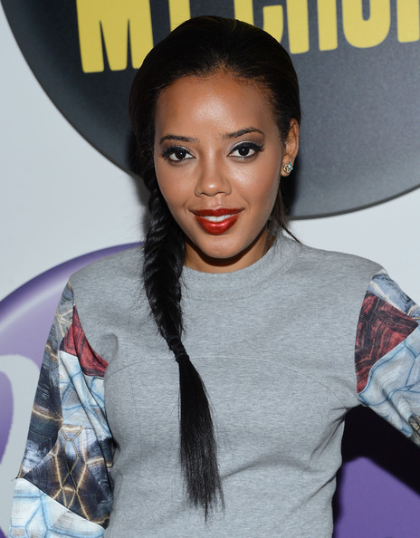 Angela Simmons Ends Fashion Week Showing Off Fishtail Braid Trend