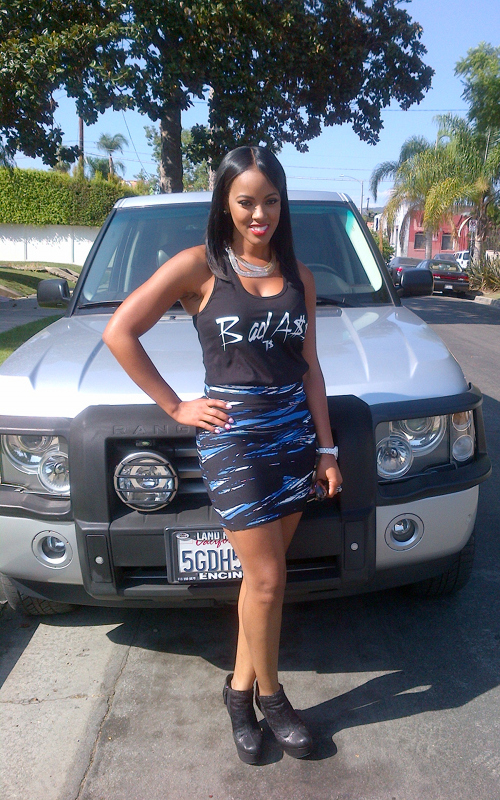 BasketBall Wives Star Malaysia Pargo Shows Off Hair Natural Straightend Hair