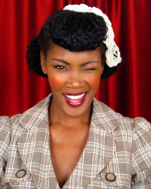 Protective Hairstyles For Black Women - Natural Hair Updos 8