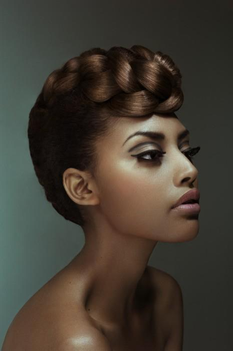 relaxed hair hairstyles : ... hair from having split ends, which means the need for less hair trims