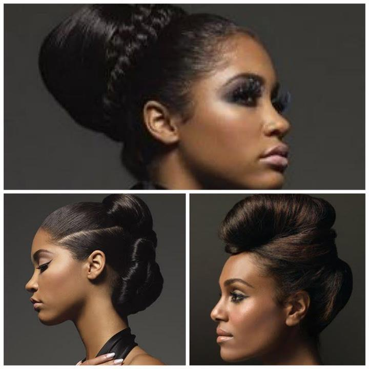 Terrific Protective Hairstyles For Relaxed Texlaxed Hair Textures The Hairstyle Inspiration Daily Dogsangcom
