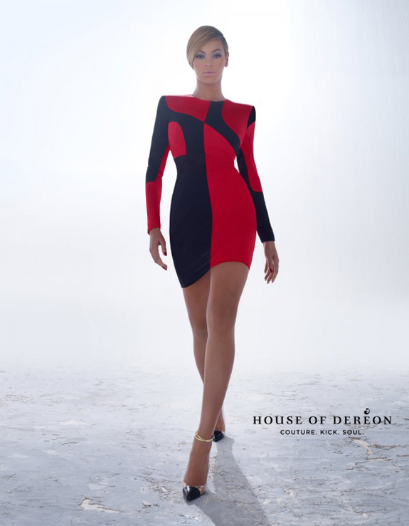 Beyonce Debuts New House of Dereon Fall/Winter 2012 Ad