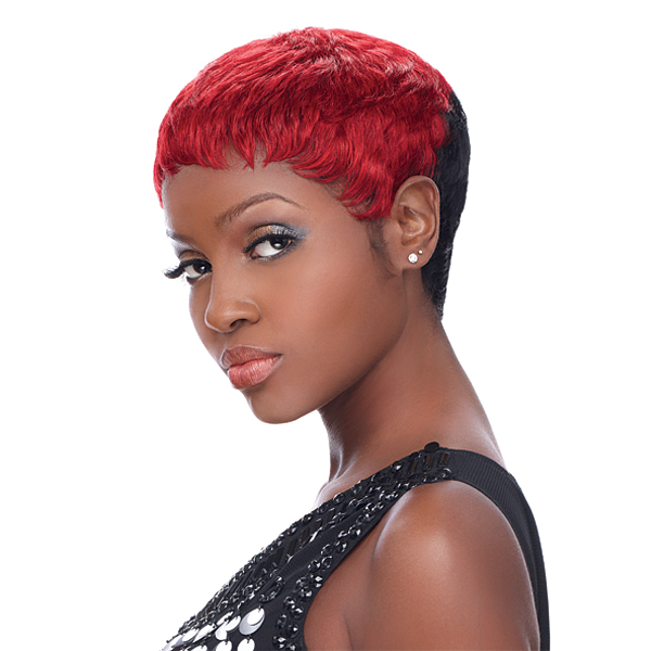 Black Hair Trend Alert – Short Colored Wigs – The Style News ...