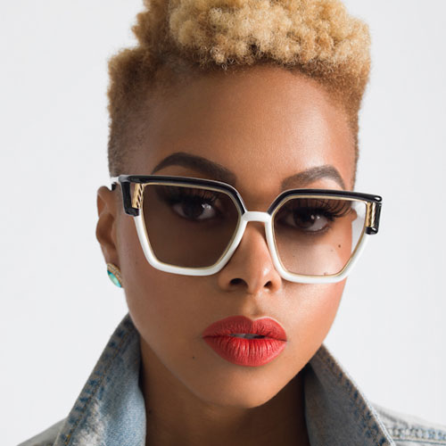 Chrisette Michele's Natural Hair Goes Two – Toned Blonde