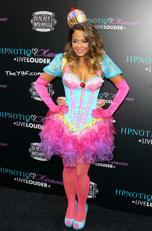 Christina Milian Loves Halloween, Check Out The Three Costumes She Rocked This Year