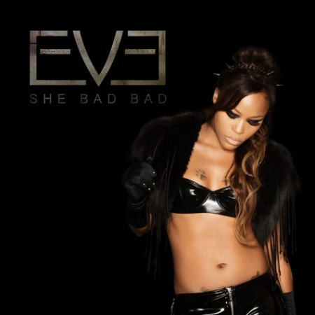 "Eve Shows Off Ombre Tresses On The Cover Of Her New ""She Bad Bad"" Single"