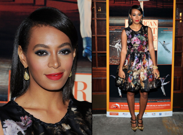Solange Knowles Switches Things Up With Bone Straight Hairstyle