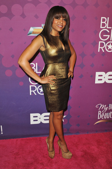Taraji P. Henson Also Joins Blunt Bang Trend