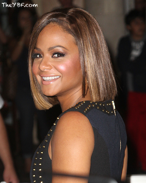 Christina Milian Switches It Up Again With A Bob Haircut 2