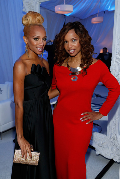 Lil Mama Shows Off New Blonde Hair Color At The 2012 Soul