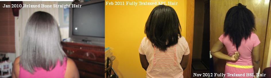 Texlax Hair length timeline words 2