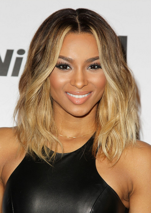 Ciara Shows Off Shoulder Length Hairstyle