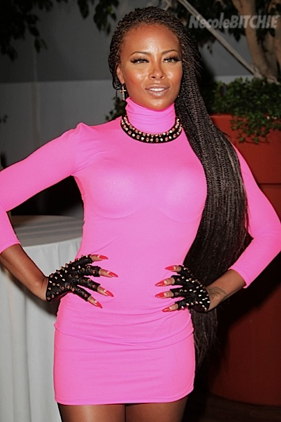 Eva Marcille Pigford Gets A Head Full Of Long Gorgeous Box Braids 2