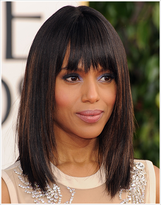 How To Get Kerry Washington's 2013 Golden Globes Makeup Look