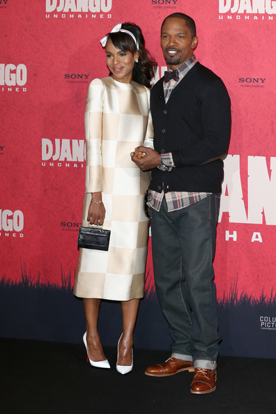 Kerry Washington Stuns The Red Carpet For 'Django Unchained' Premieres 2