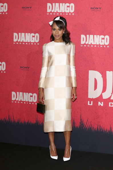 Kerry Washington Stuns The Red Carpet For 'Django Unchained' Premieres 3