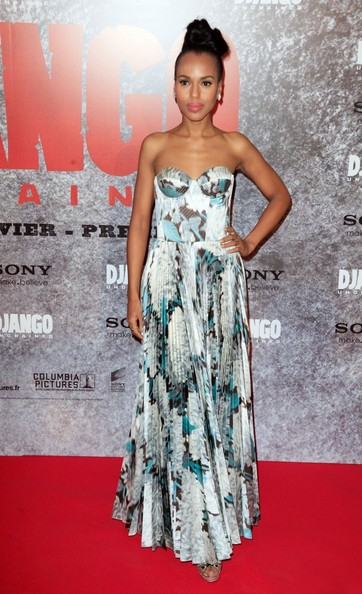 Kerry Washington Stuns The Red Carpet For 'Django Unchained' Premieres 4