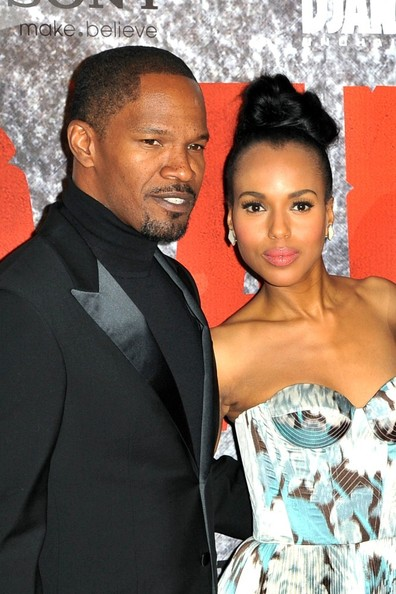 Kerry Washington Stuns The Red Carpet For 'Django Unchained' Premieres 5