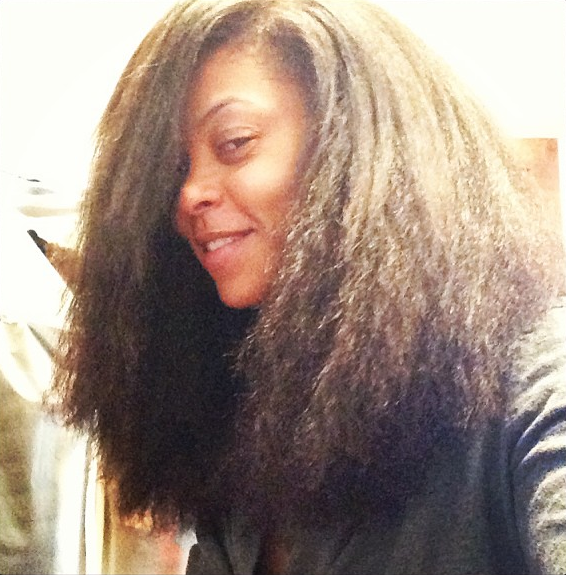 Taraji P Henson Instagrams Picture Of Her Real Tresses