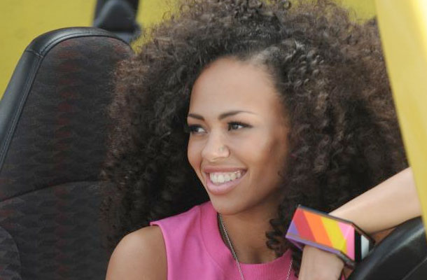 5 Black Celebs With Long Real Hair 10