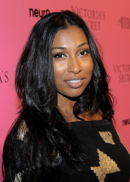 5 Black Celebs With Long Real Hair 6