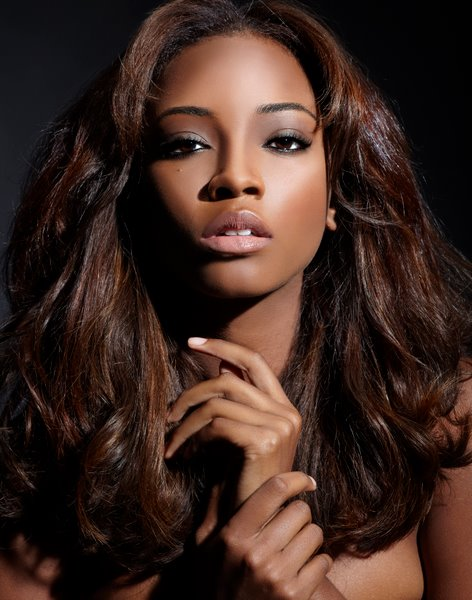 5 Black Celebs With Long Real Hair