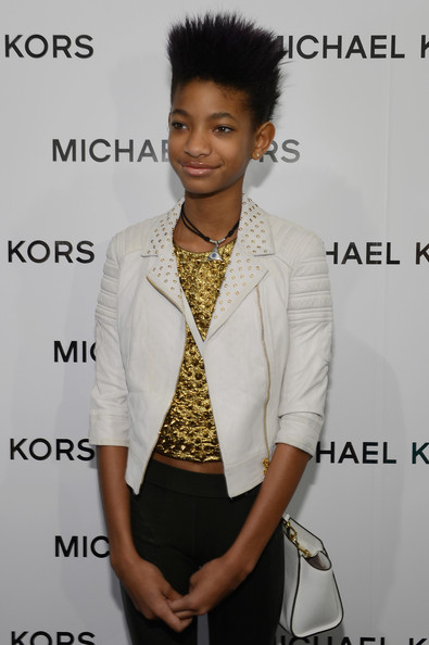 Check Out Willow Smith's Mohawk - Spiky New Hairstyle 4