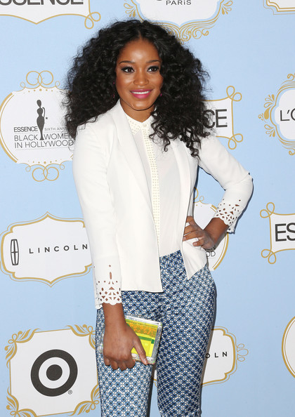 Keke Palmer's Been Rocking A New Curly Hairstyle 3