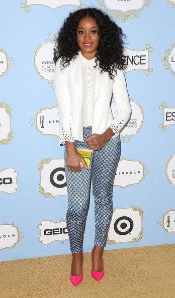 Keke Palmer's Been Rocking A New Curly Hairstyle 4