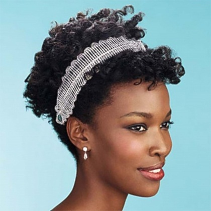 Wedding Hairstyles For Natural Hair - The Style News Network