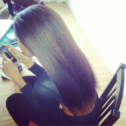 Angela Simmons Shows Off Her Natural Waist-Length Hair 2