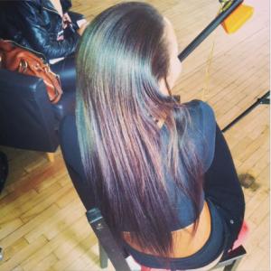 Angela Simmons Shows Off Her Natural Waist-Length Hair