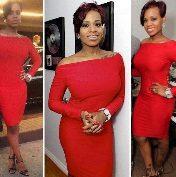 Check Out Fantasia Barrino's New Look, New Red Hair Color and Slim Figure