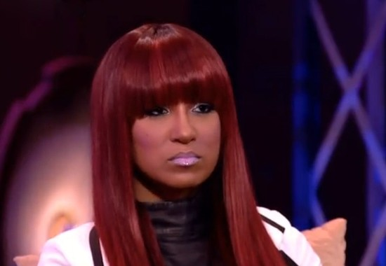 "Olivia's Red Hair Color and Blunt Bangs From ""Love & Hip Hop New York"" Reunion Show"