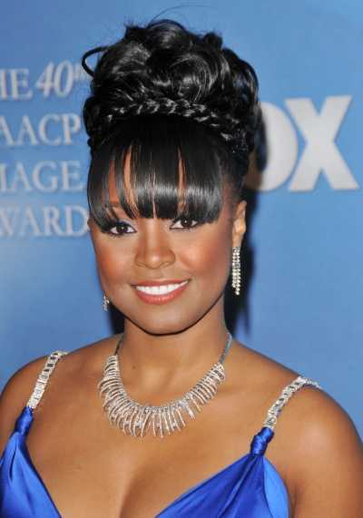 Prom Updo Ideas For Black and African American Women 5