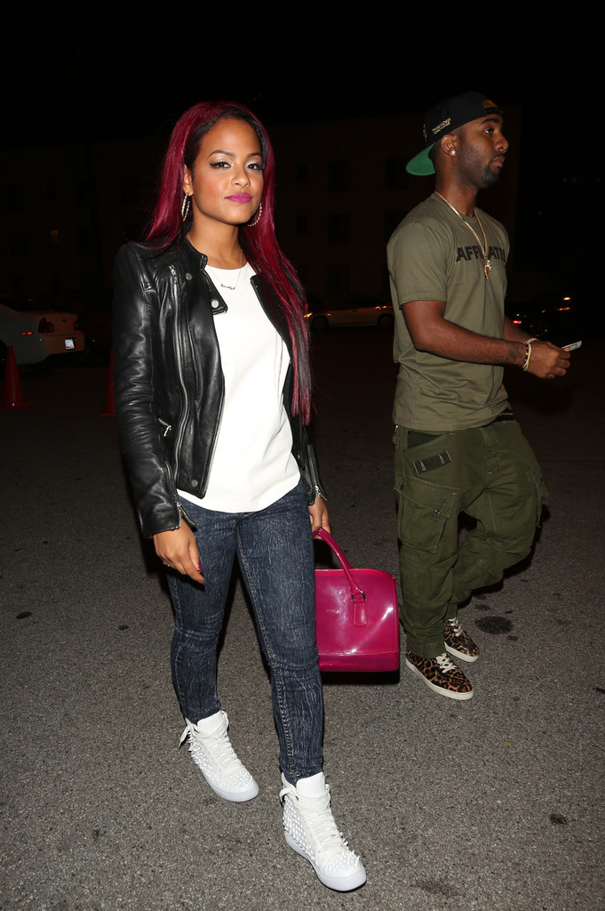 Christina Milian Goes Red, See Her New Red Hair Color 2