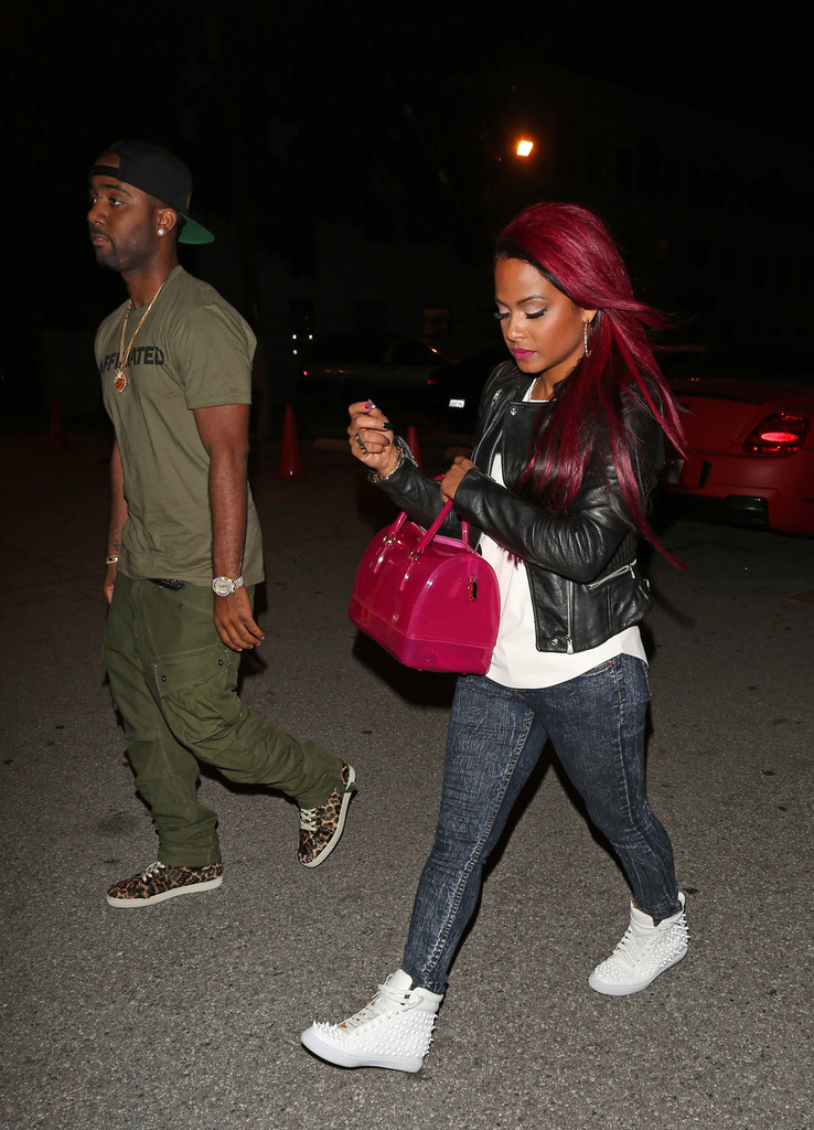 Christina Milian Goes Red, See Her New Red Hair Color 3