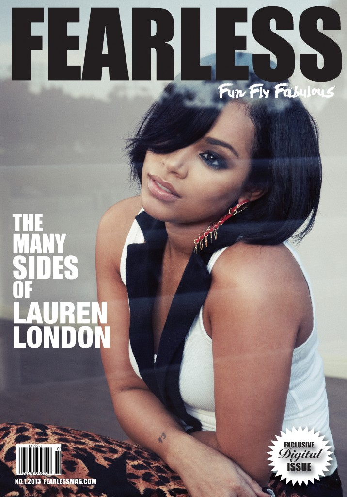 Lauren London Rocks Short Haircut (Bob) In Fearless Magazine